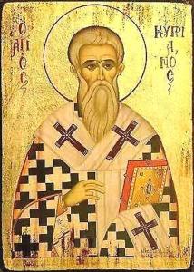 """Dans les écrits de saint Cyprien, l'enseignement Orthodoxe à propos de l'Église est précisé : Elle est fondée sur le Seigneur Jésus-Christ, et fut proclamée et bâtie par les Apôtres. L'unité interne est exprimée dans une unité de Foi et d'amour, et l'unité externe est manifestée par la hiérarchie et les Sacrements de l'Église. Dans l'Église du Christ se trouve la plénitude de la vie et du Salut. Ceux qui se sont séparés d'eux-mêmes de l'unité de l'Église n'ont pas la vraie vie en eux. L'amour Chrétien est montré comme étant le lien qui tient l'Église ensemble. """"L'amour est le fondement de toutes les vertus, et il continue avec nous éternellement dans le Royaume Céleste."""""""